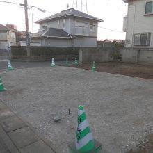 駐車場拡大いたしました NO.780の施工写真1