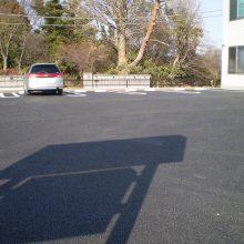 駐車場をアスファルトで NO.796の施工写真1