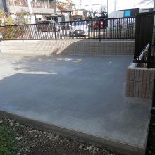 駐車場を新設 NO.795の施工写真1