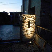 門扉の前には NO.811の施工写真3