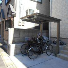 建物まわりはスタンプコンクリートで NO.800の施工写真2