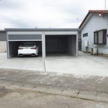 車2台分のガレージ NO.815の施工写真0
