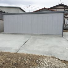 車2台分のガレージ NO.815の施工写真1
