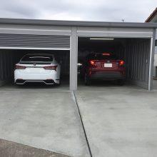 車2台分のガレージ NO.815の施工写真