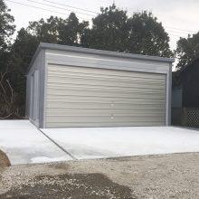 ガレージを2台 NO.809の施工写真