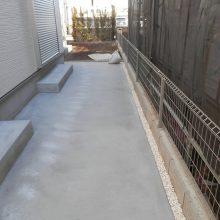 砂利を再利用 NO.807の施工写真3