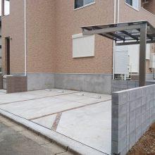 アパートの外構 NO.832の施工写真0
