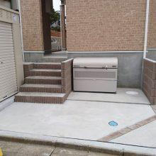 アパートの外構 NO.832の施工写真1
