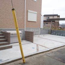 アパートの外構 NO.832の施工写真2