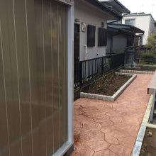 お庭をイメージチェンジ NO.827の施工写真2