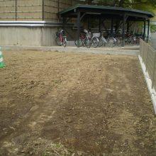 土留めして整地いたしました。NO.830の施工写真2