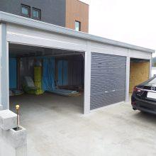 ガレージはイナバ NO.839の施工写真1