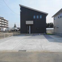 シンプルオープン外構 NO.840の施工写真