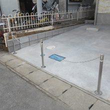 駐車場を両サイドに NO.860の施工写真1