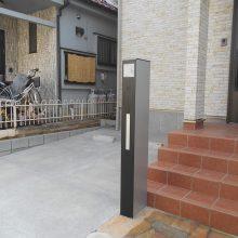 駐車場を両サイドに NO.860の施工写真2