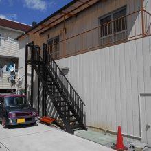 階段を取付けました NO.858の施工写真