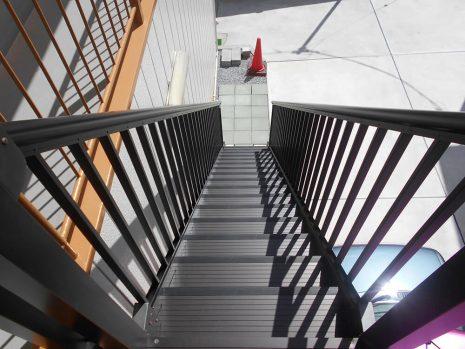 階段を取付けました NO.858の施工後写真3