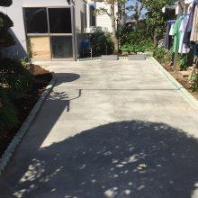 土間で駐車場工事 NO.843の施工写真2