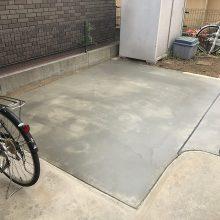 駐車場を奥まで延長 NO.846の施工写真0
