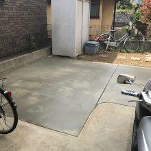 駐車場を奥まで延長 NO.846の施工写真