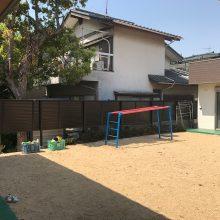 保育園の外構 NO.864の施工写真2
