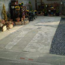 駐車場工事 NO.842の施工写真1