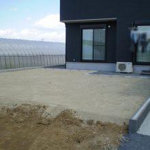 敷地が大きい外構は NO.856の施工写真