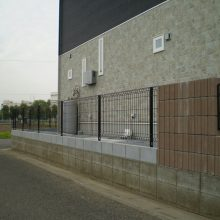 ディズニーフェンス NO.857の施工写真1