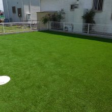 芝と砂利で雑草対策 NO.885の施工写真