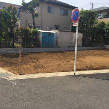 隣地境界ブロック NO.873の施工写真