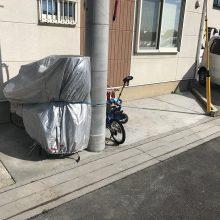 駐車場をフラットに NO.877の施工写真1