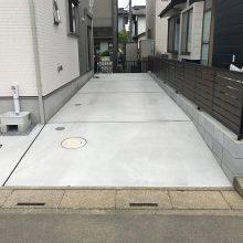 縦列駐車場 NO.879の施工写真1