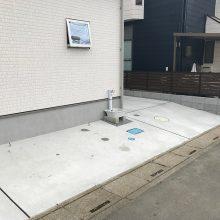 縦列駐車場 NO.879の施工写真2
