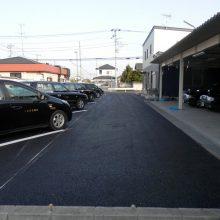 駐車場舗装工事 NO.882の施工写真1
