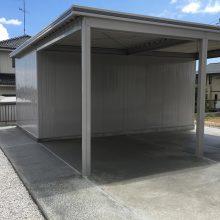 ヨド物置 ラヴイージュのガレージ NO.893の施工写真メイン