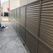 境界に目隠しフェンス NO.895の施工写真2