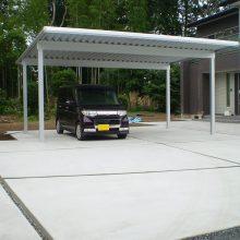 大きな敷地の駐車場 NO.906の施工写真メイン