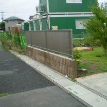 目隠しフェンスを各所に NO.907の施工写真2
