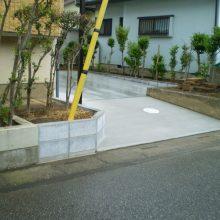 土間コンクリートですっきり NO.911の施工写真