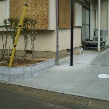 土間コンクリートですっきり NO.911の施工写真2