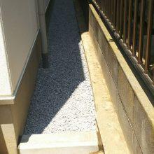 防草シート ザバーンで雑草対策 NO.899の施工写真2