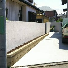 塀をリフォーム NO.918の施工写真1