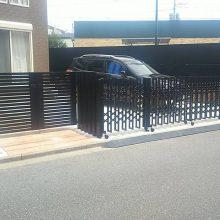 門まわりを修復工事 NO.931の施工写真1