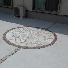 ディズニーキャラの石貼り施工 NO.927の施工写真2