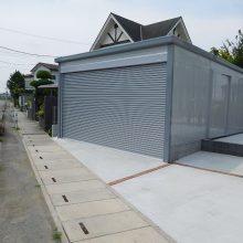 イナバ ブローディアのガレージ NO.933の施工写真