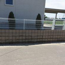 フェンスを設置 NO.923の施工写真1