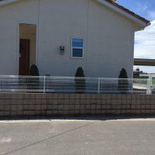 フェンスを設置 NO.923の施工写真0