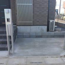駐車場工事と雑草対策 NO.921の施工写真