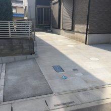 駐車場工事と雑草対策 NO.921の施工写真0