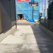駐車場工事と雑草対策 NO.921の施工写真1